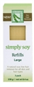 Picture of Clean + Easy - 47327 Large (Leg) Simply Soy Formula 3 pk