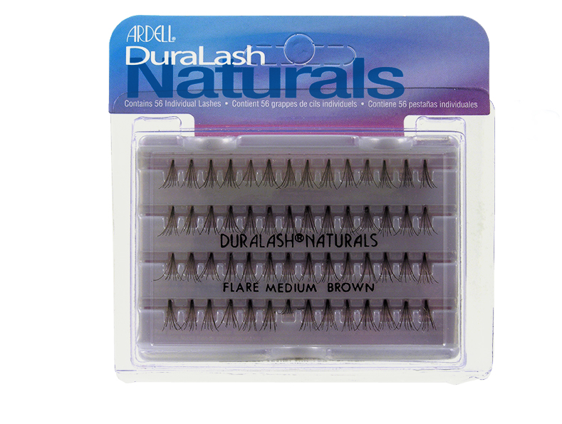 30304fc543d Picture of Ardell Eyelash - 65053 Flared Knot-Free Individual Lashes Medium  Brown