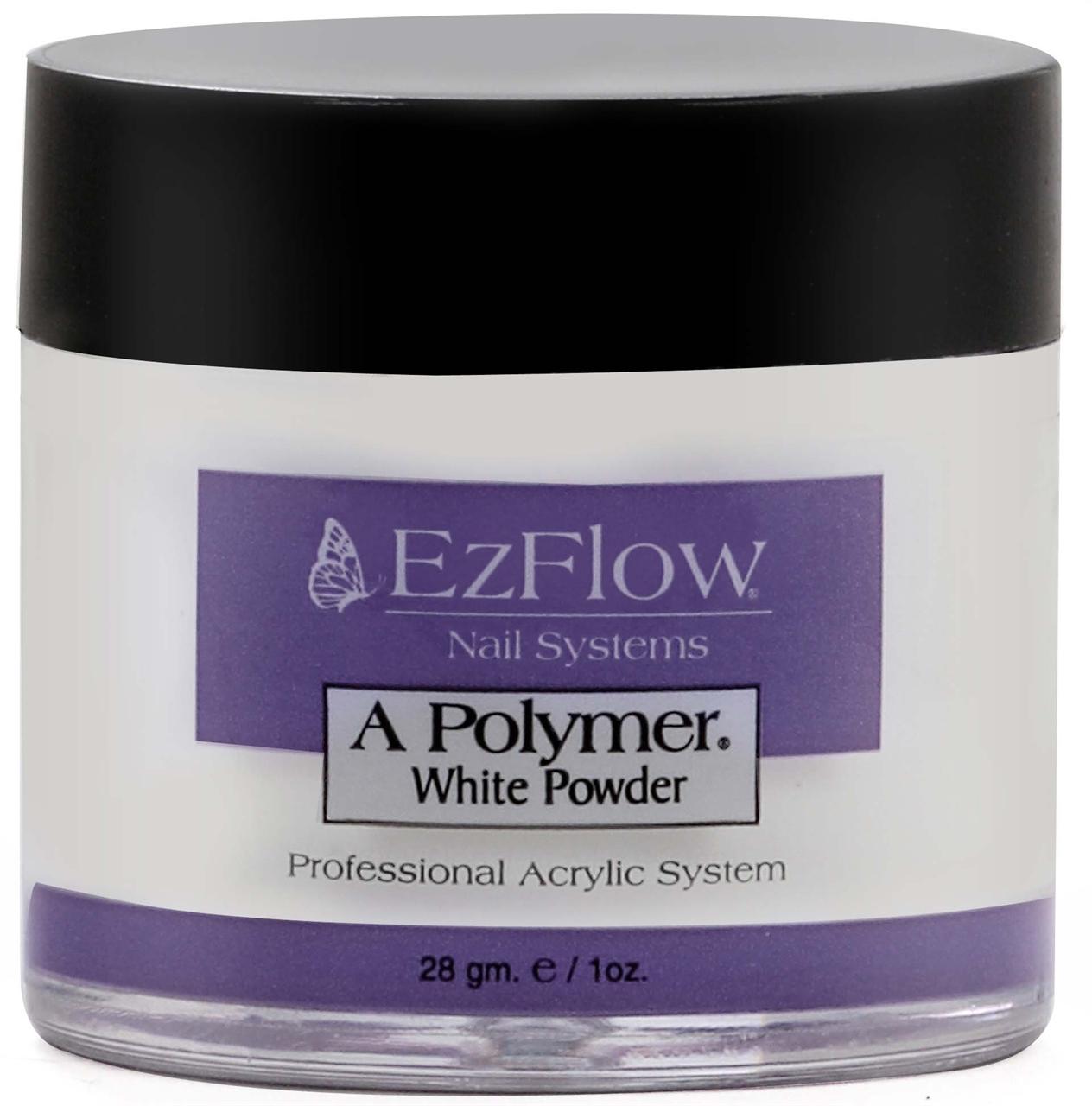Warehouse Nail & Spa. EzFlow Powder - 66052 A Polymer White Net Wt ...