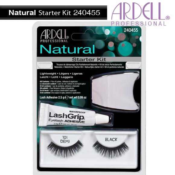Warehouse Nail Spa Ardell Eyelash 240455 Natural 101 Demi Black