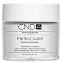 Picture of CND Powder - 03212 Perfect Color Powders - Soft White - 3.7oz