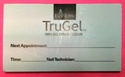 Picture of EzFlow Item# 90-2409 Trugel Appointment Card FREE