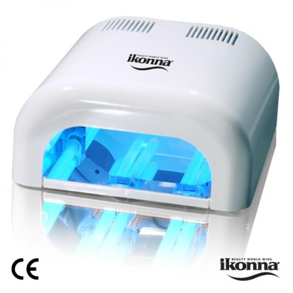 warehouse nail spa ikonna item uv36 110 ultraviolet gel curing light 36 watt