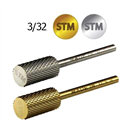 Picture of Startool Carbide - STM-S Carbide Bits Large Barrel Silver Medium STM 3/32 (2.35mm) - Boxed