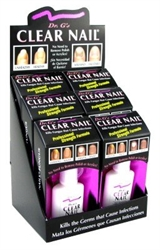 Picture of Nail Treatments - 107011 DR. G'S Clear Nail Retail Display 6 pk
