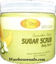 Picture of SpaRedi Item# 01340 Sugar Scrub Cucumber & Melon 16 oz