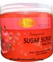 Picture of SpaRedi Item# 01370 Sugar Scrub Pomegranate 16 oz