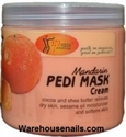 Picture of SpaRedi Item# 05070 Pedi Mask Mandarin 16 oz