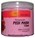 Picture of SpaRedi Item# 05370 Pedi Mask Pomegranate 16 oz