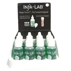 Picture of Infalab Item# InfaLab Liquid Styptic Skin Protector 0.5oz (12 pcs)