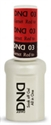 Picture of DND MOOD CHANGE GEL  - DND03 Red to Garnet 0.5oz